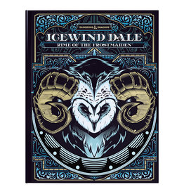 Wizards of the Coast D&D Icewind Dale: Rime of the Frostmaiden - Alternate Art Cover