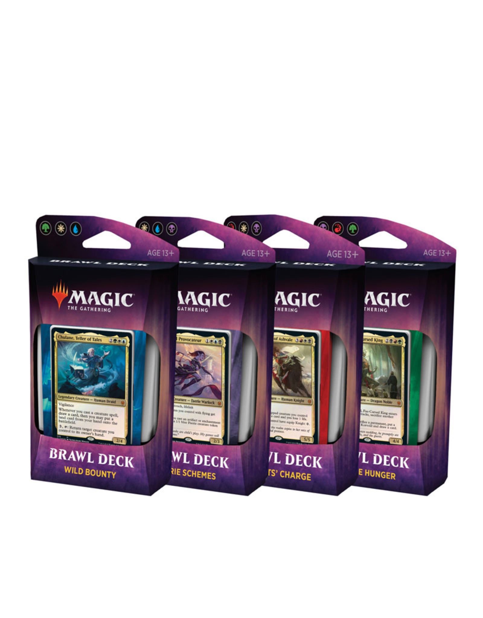 Wizards of the Coast MTG Throne of Eldraine Brawl Decks (Set of 4)
