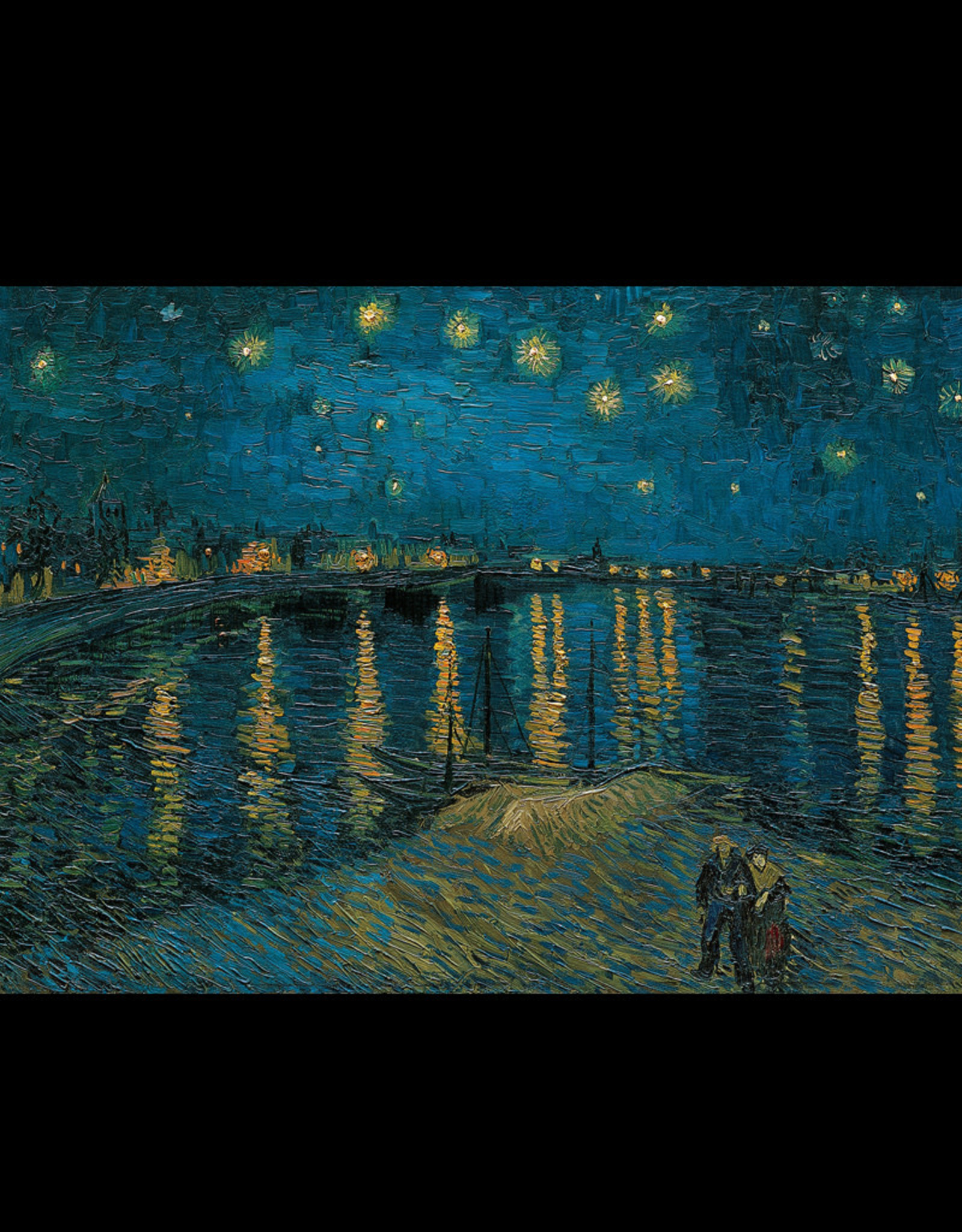 Clementoni Starry Night on the Rhone Puzzle 1000 PCS (van Gogh)