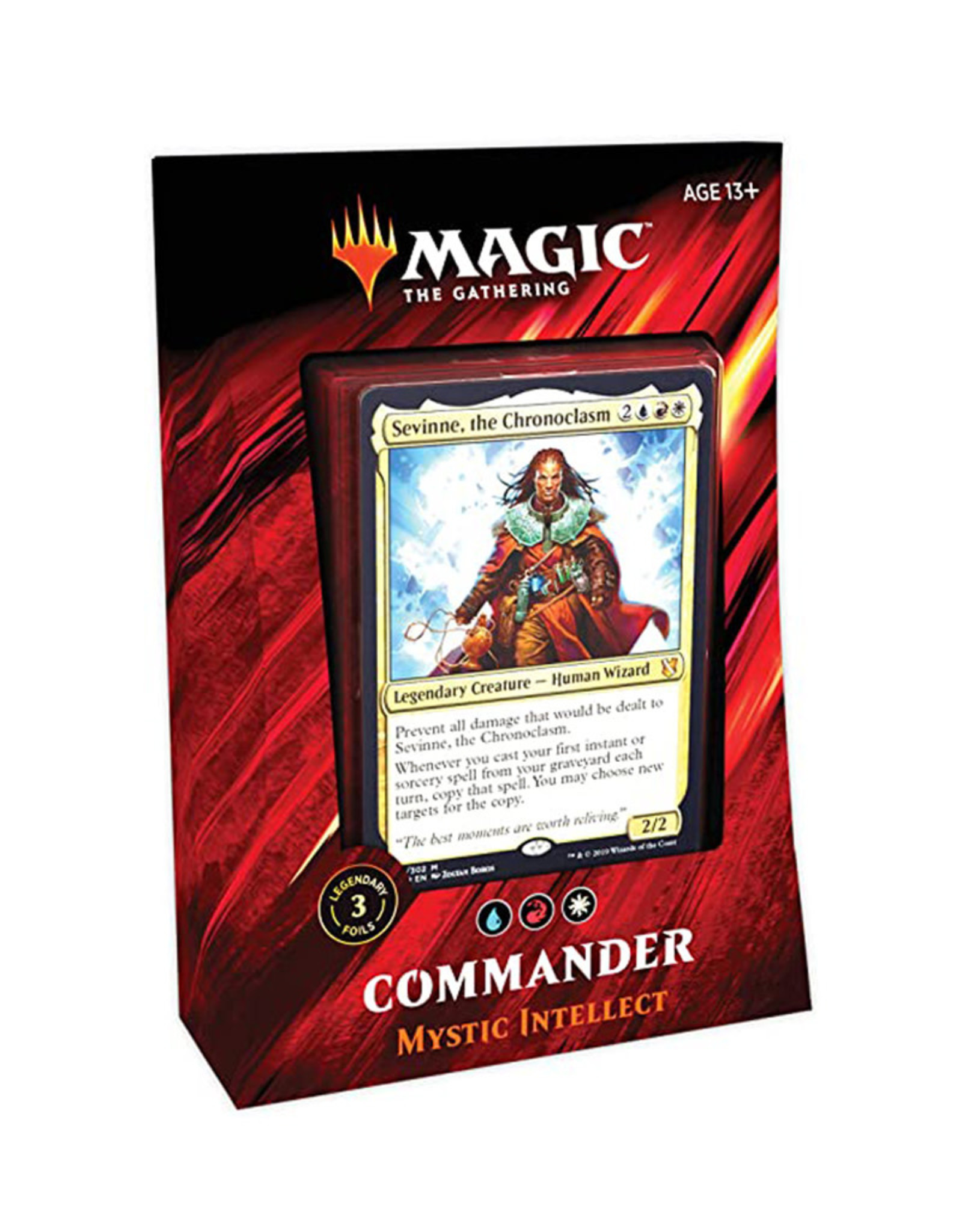 Wizards of the Coast MTG Commander 2019 Deck (Mystic Intellect)