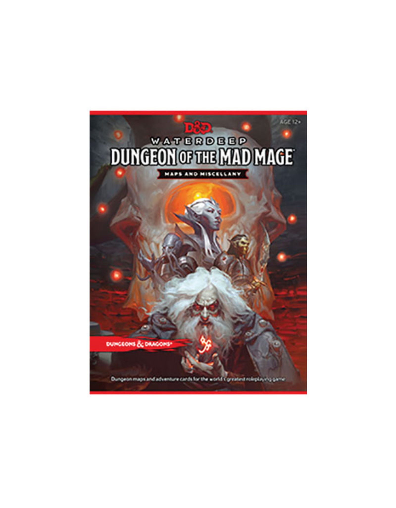 Wizards of the Coast D&D Waterdeep: Dungeon of the Mad Mage Map
