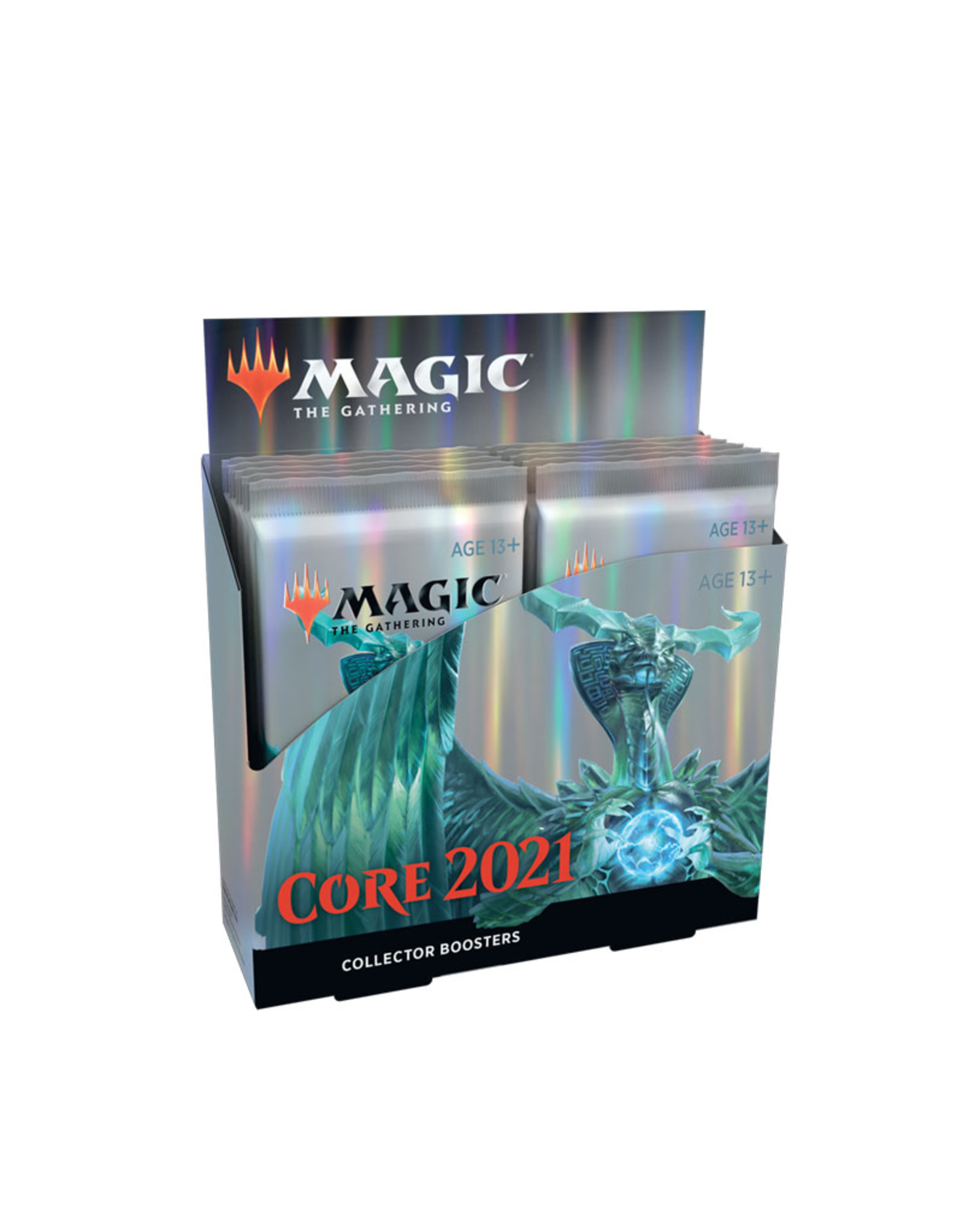 Wizards of the Coast MTG Core Set 2021 Collector Booster Display (12 Boosters)
