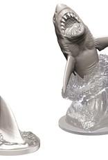 Wizkids Deep Cuts Unpainted Miniatures: Shark