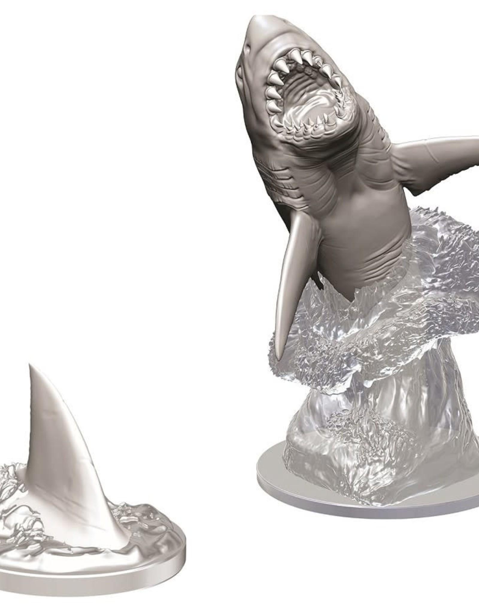 Wizkids Deep Cuts Unpainted Minis: Shark
