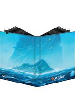 ULP MTG PRO Binder 9-Pocket (Unstable Lands - Islands)