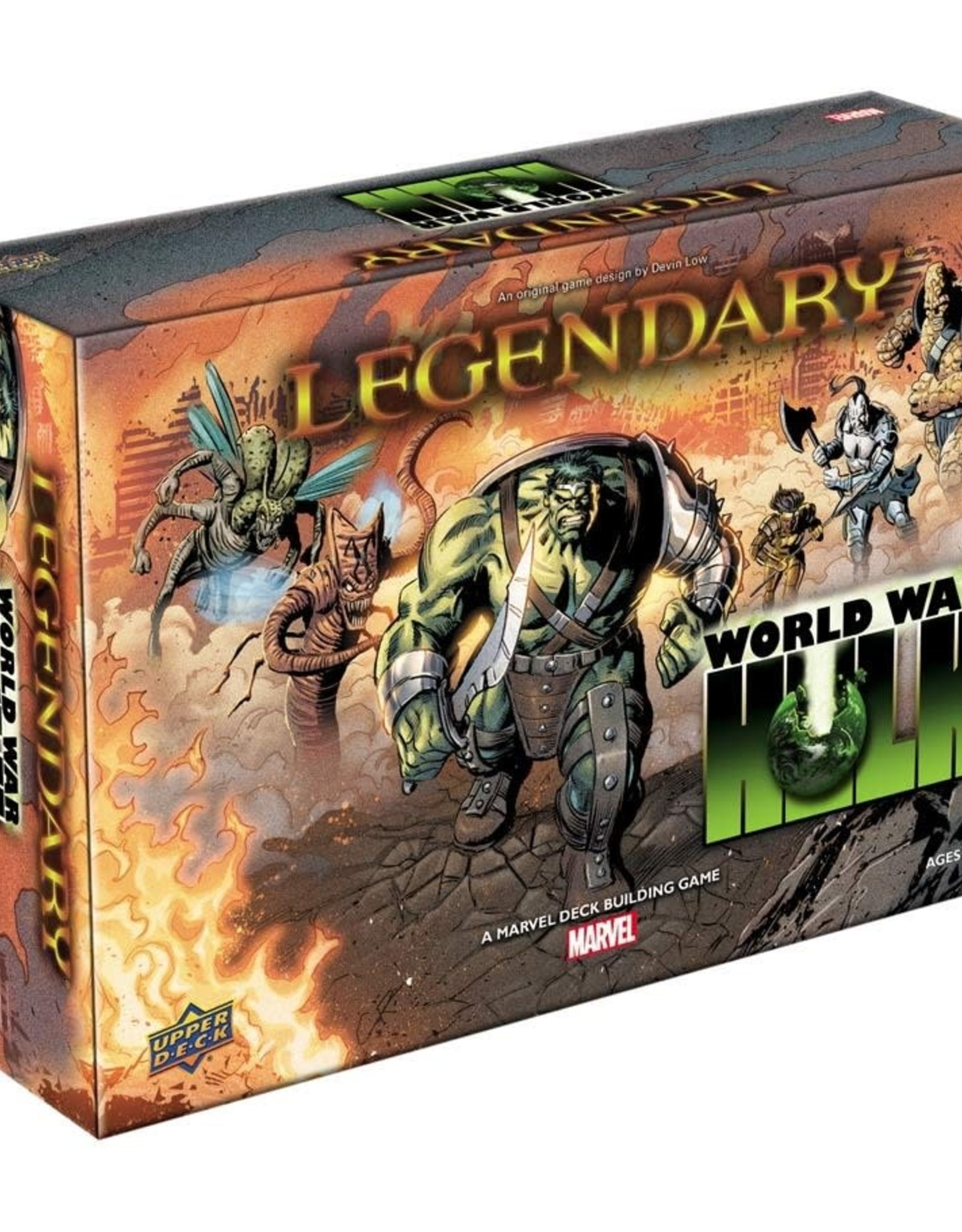 Upper Deck Legendary DBG World War Hulk Expansion
