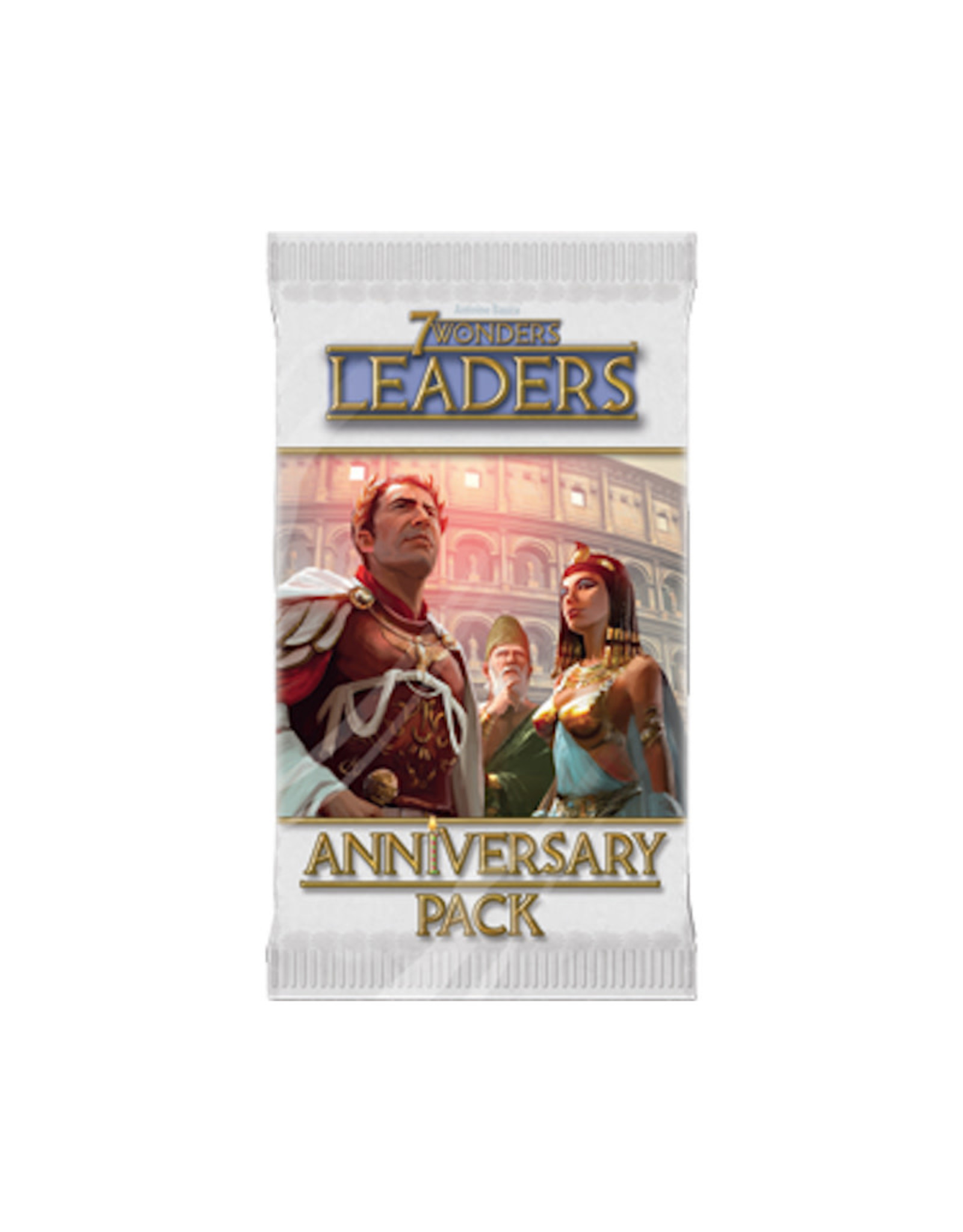 7 Wonders Leaders Anniversary Pack Expansion