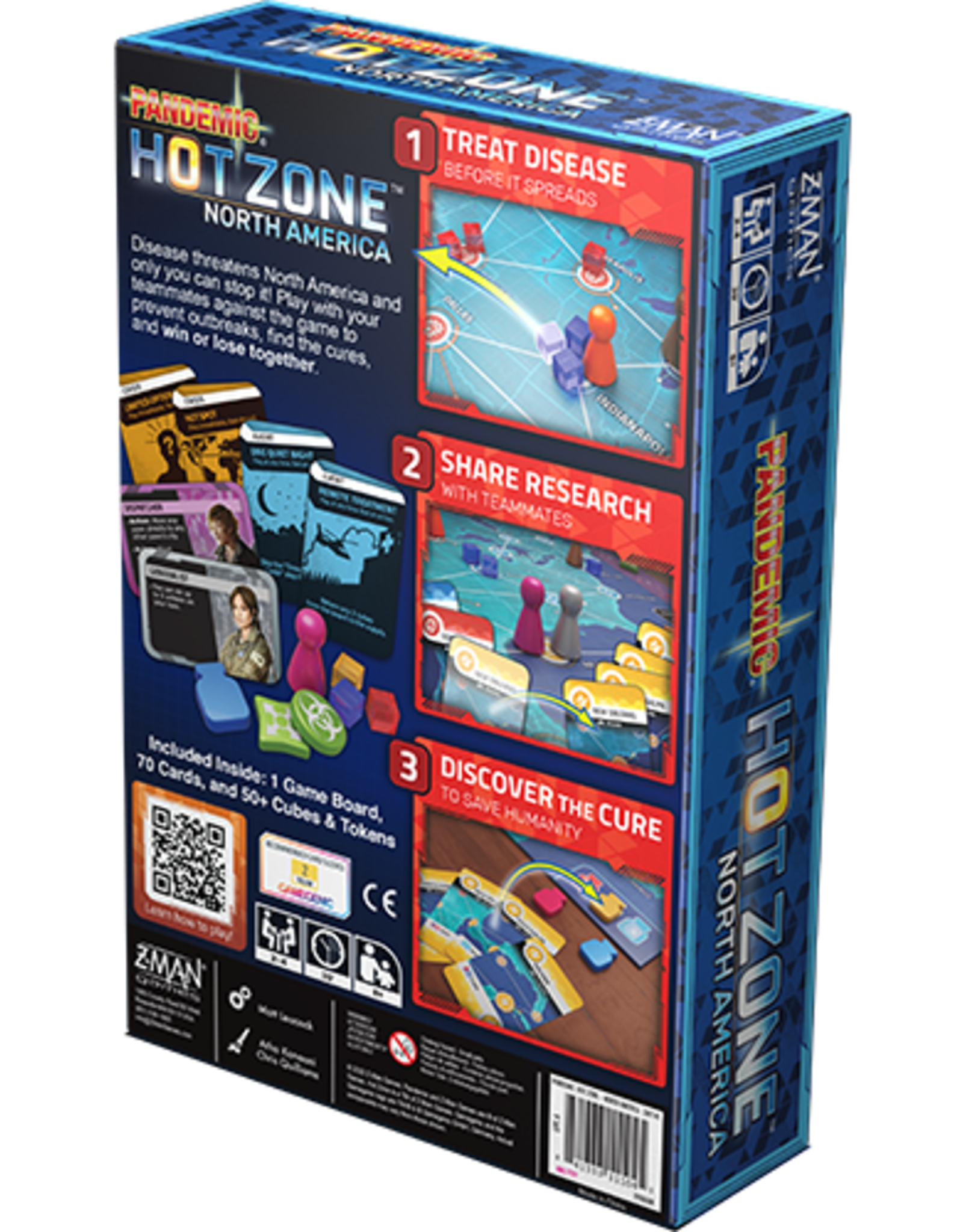Pandemic Hot Zone North America (stand alone)