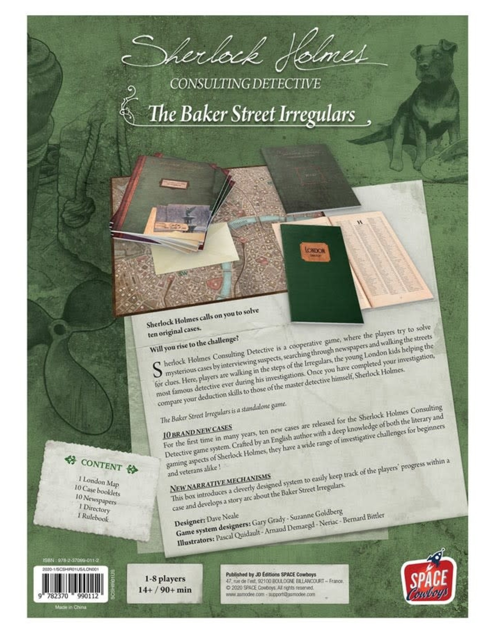 Sherlock Holmes Consulting Detective Baker Street Irregulars (stand alone)
