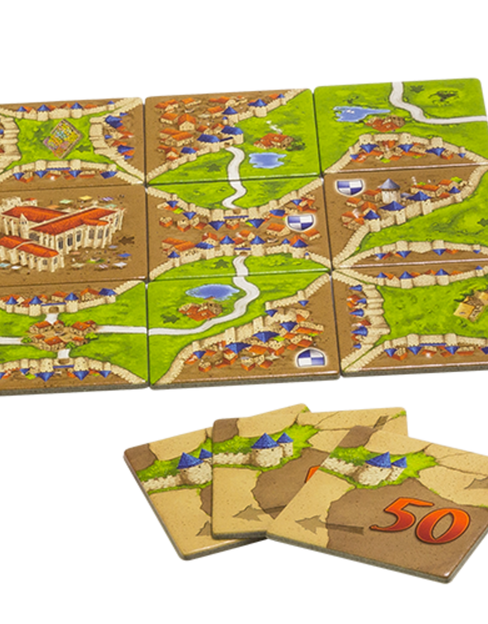 Carcassonne Expansion 1 Inns and Cathedrals