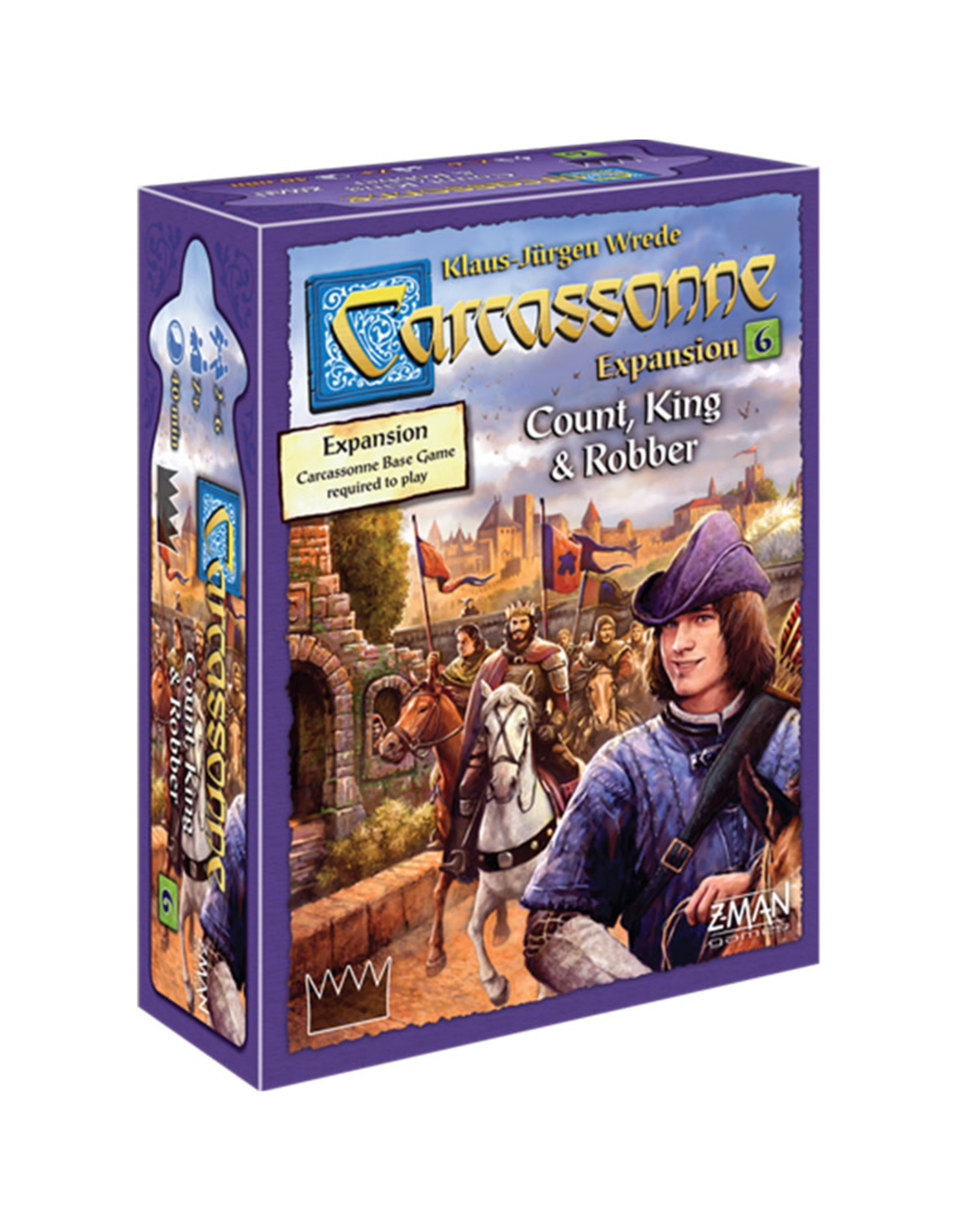 Carcassonne Expansion 6 Count/King/Robber