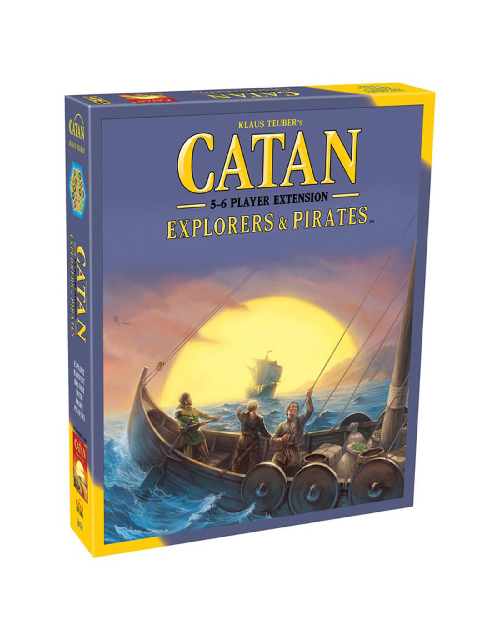 Catan Explorers & Pirates 5 - 6 Player Extension