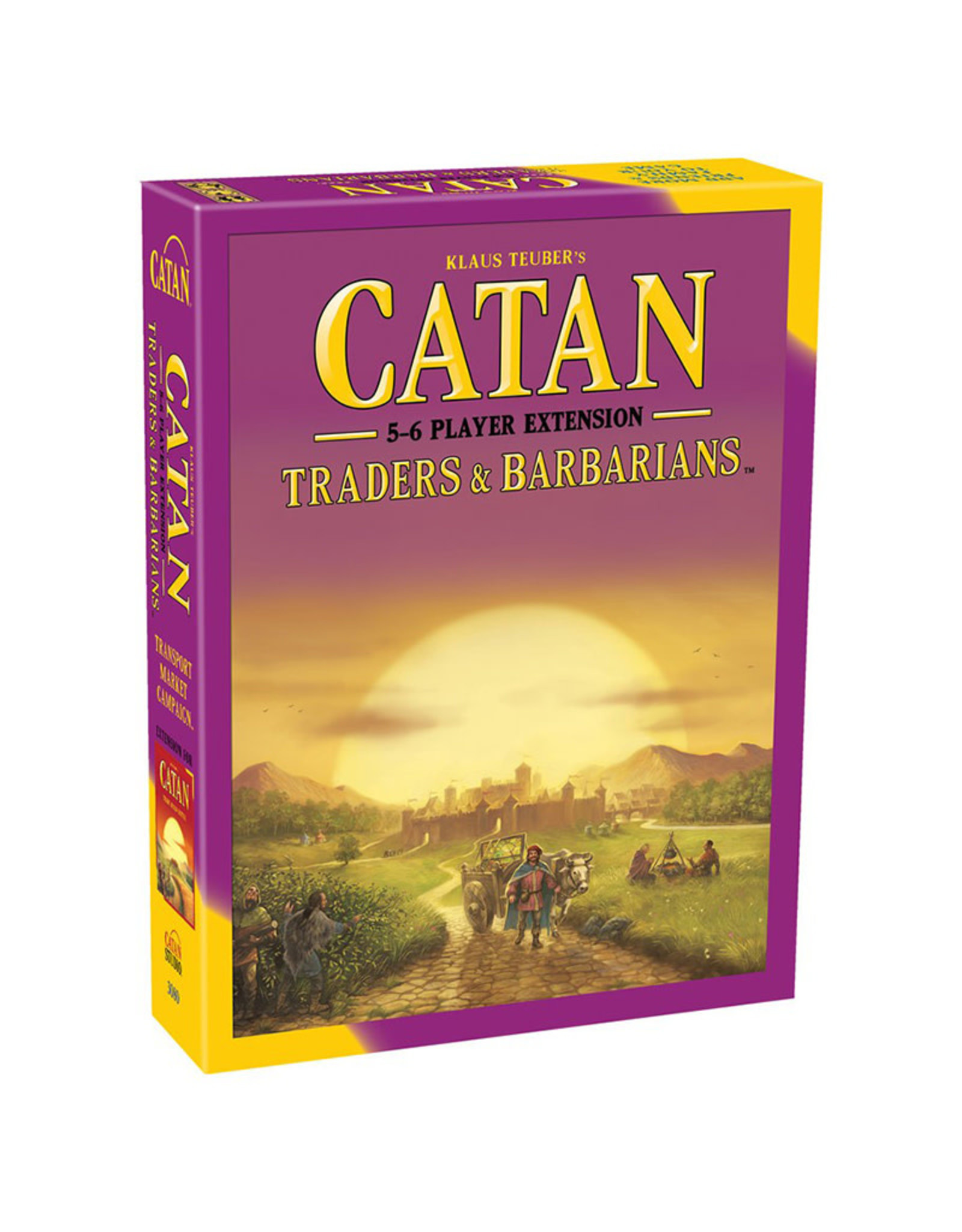 Catan Traders & Barbarians 5 - 6 Player Extension