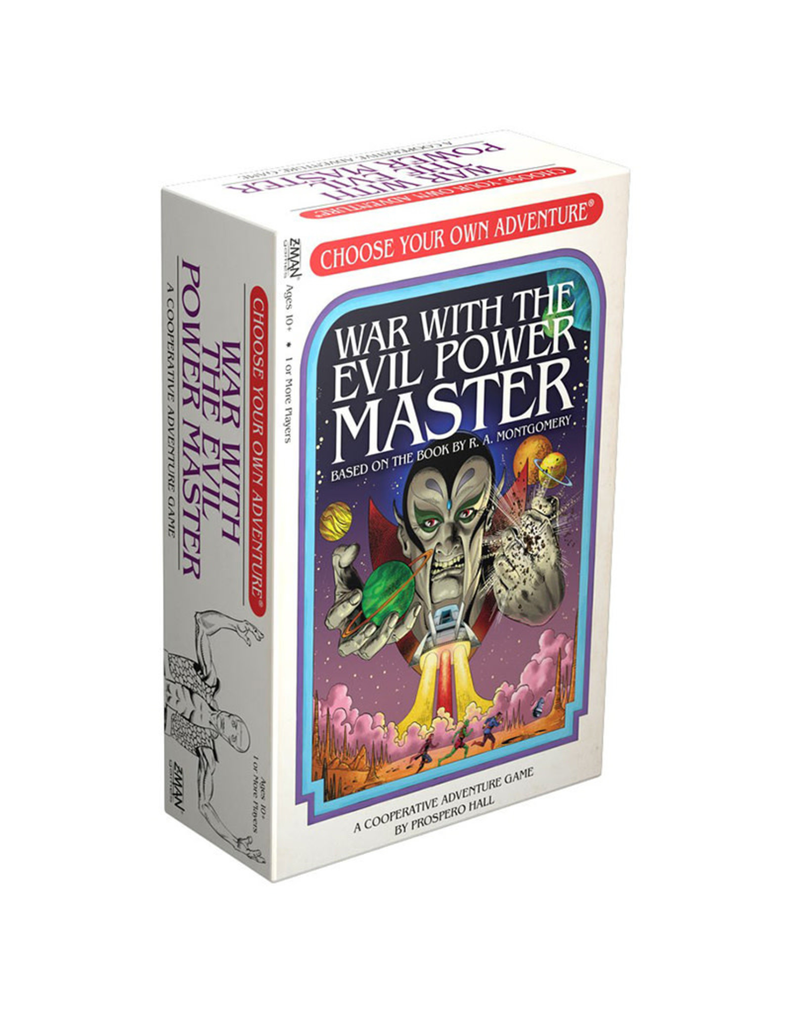 Choose Your Own Adventure War With the Evil Power Master