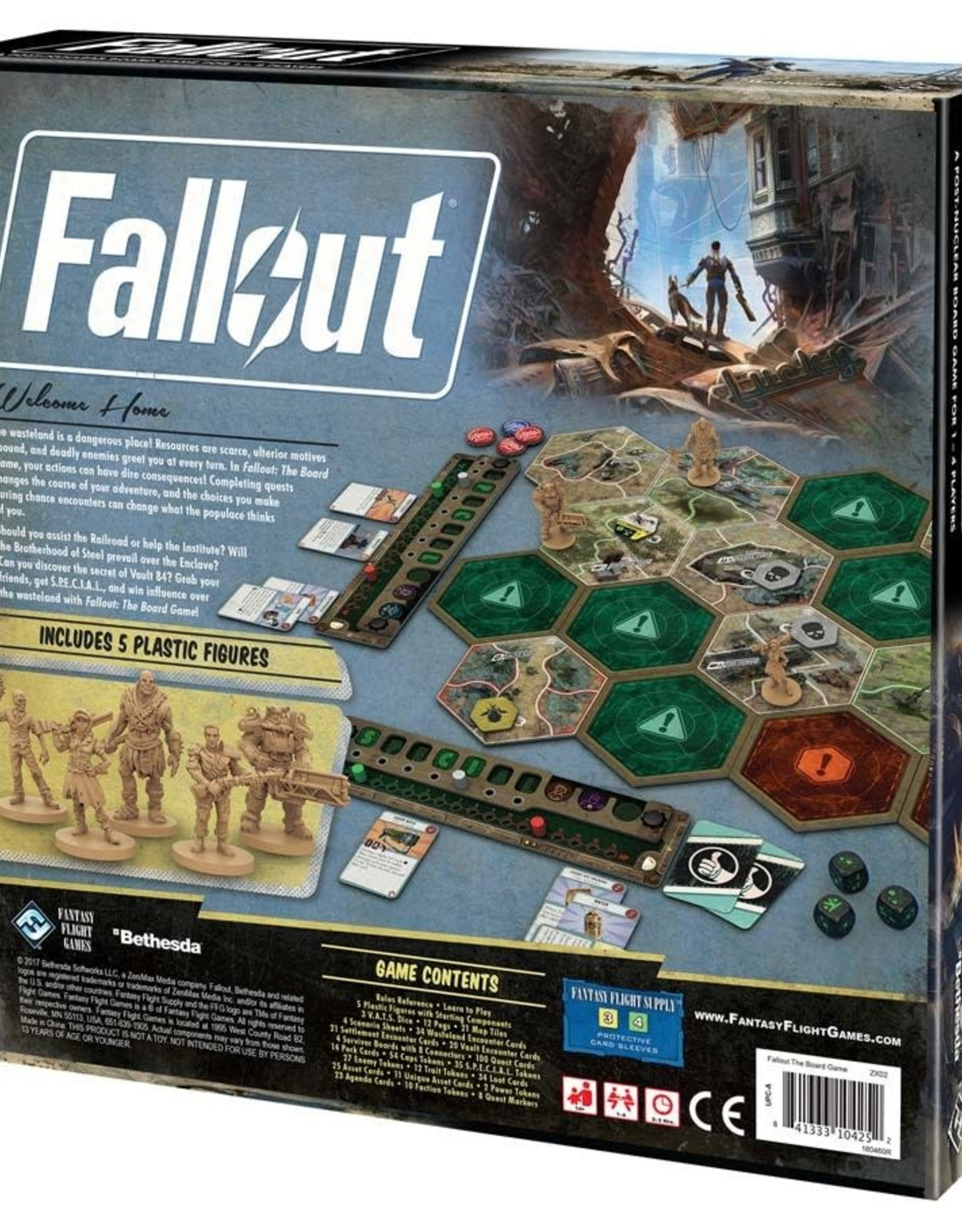 Fantasy Flight Games Fallout the Board Game