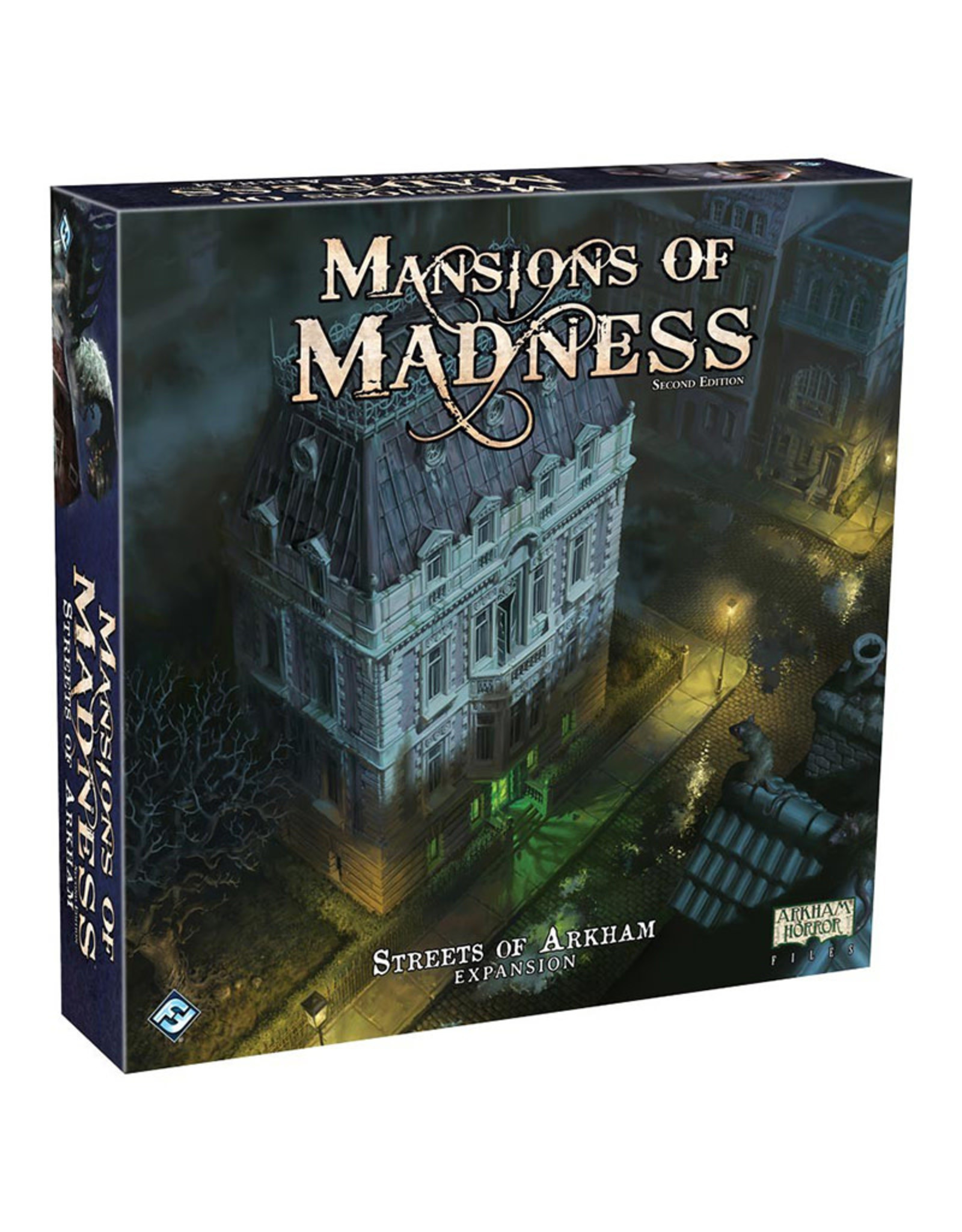 Fantasy Flight Games Mansions of Madness Streets of Arkham Expansion