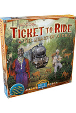 Ticket to Ride Expansion 3 Heart of Africa