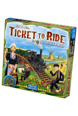 Ticket to Ride Expansion 4 Nederland