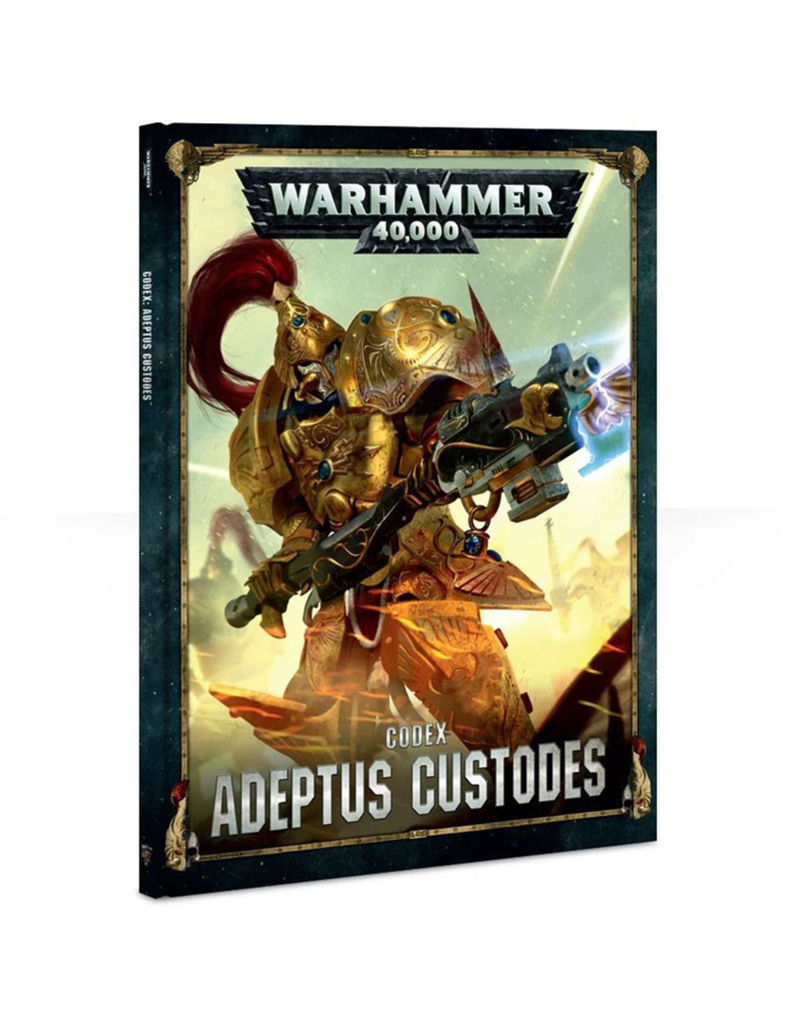 Games Workshop Warhammer 40K: Codex Adeptus Custodes