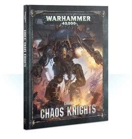 Games Workshop Warhammer 40K Codex Chaos Knights (8th edition)