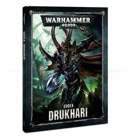 Games Workshop Warhammer 40K Codex Drukhari (8th Edition)