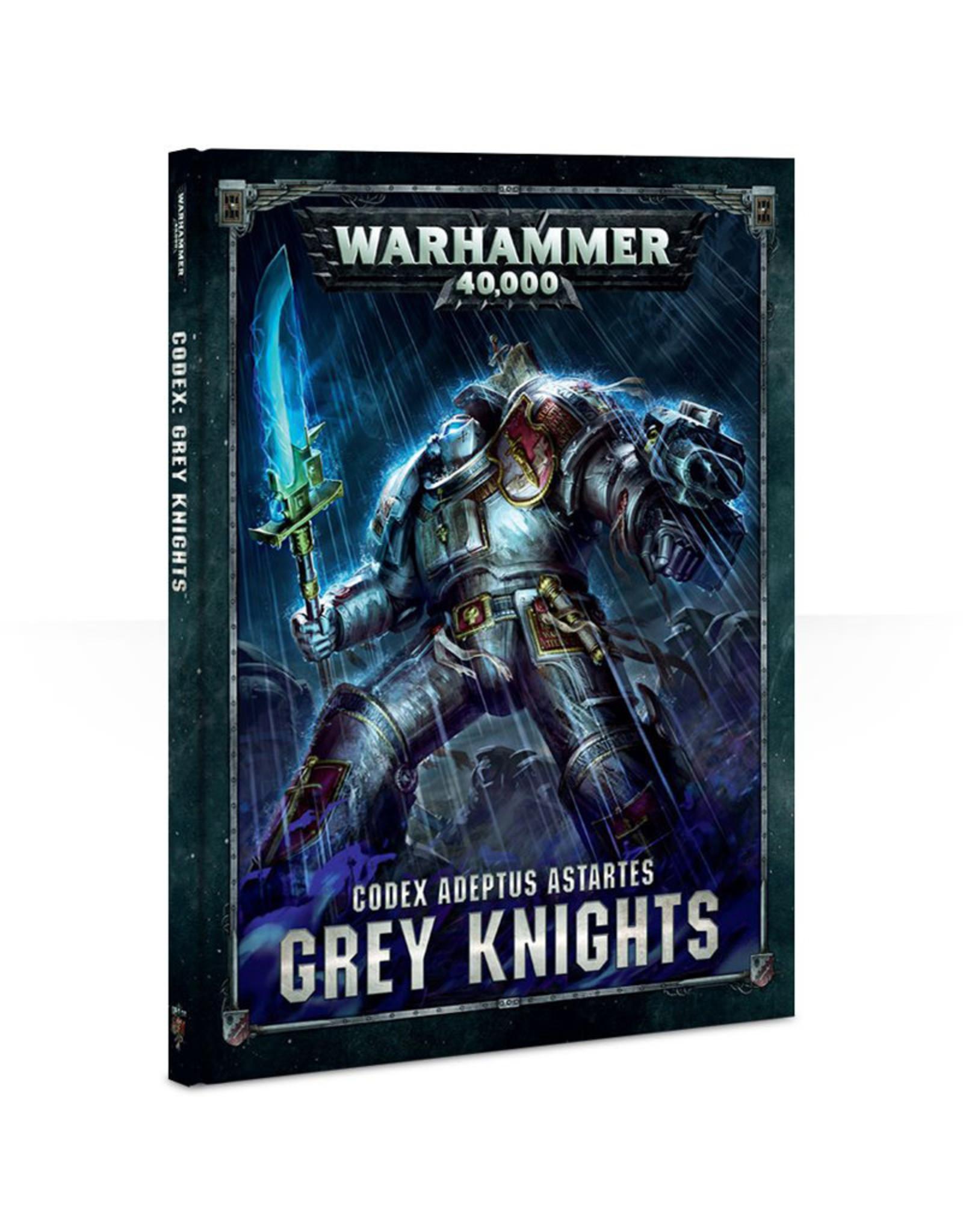 Games Workshop Warhammer 40K Codex Grey Knights (8th Edition)