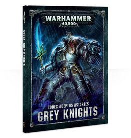 Games Workshop Warhammer 40K Codex Grey Knights (8th Edition)