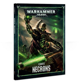 Games Workshop Warhammer 40K Codex Necrons (8th Edition)