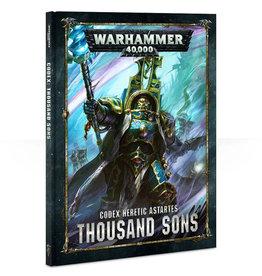 Games Workshop Warhammer 40K Codex Thousand Sons
