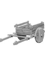 Wizkids Deep Cuts Unpainted Miniatures: 2 Wheel Cart