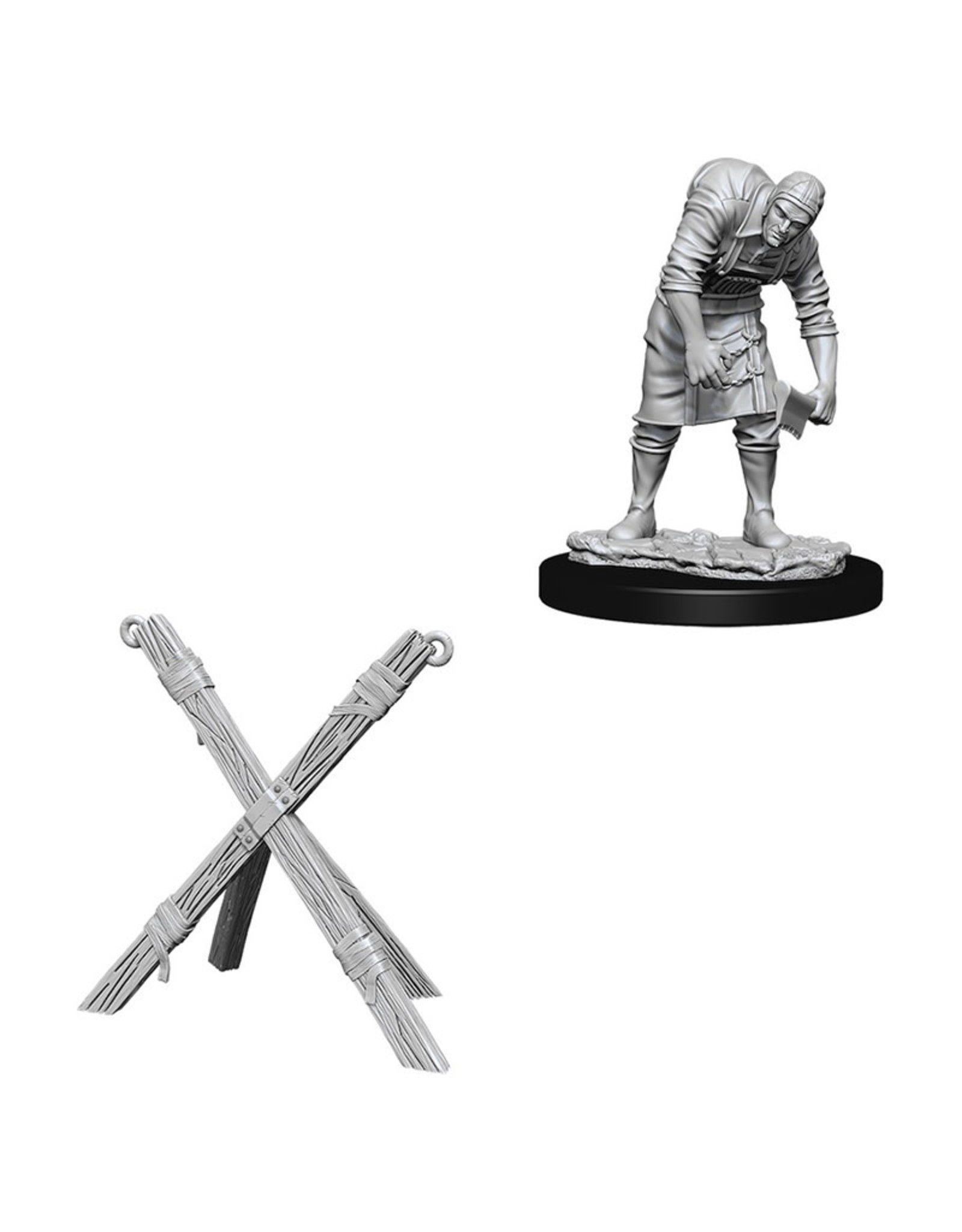 Wizkids Deep Cuts Unpainted Miniatures: Assistant and Torture Chamber