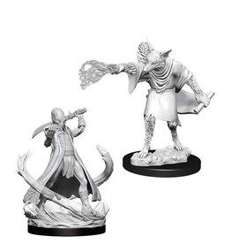 Wizkids D&D Nolzur's Unpainted Miniatures: Arcanaloth and Ultroloth