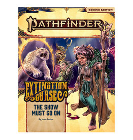 Paizo PF RPG AP Extinction Curse PT 1 The Show Must Go On