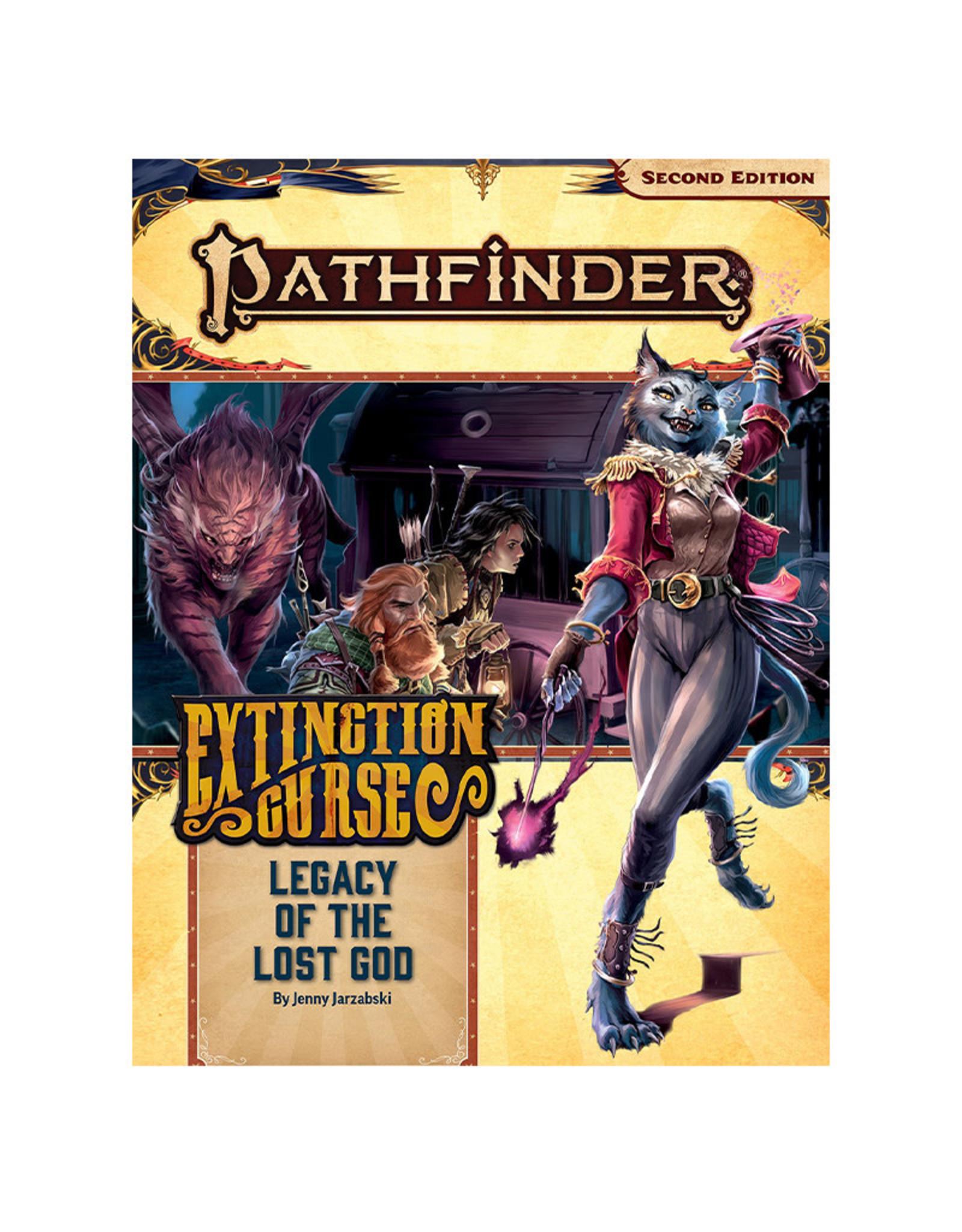 Paizo Pathfinder RPG: AP Extinction curse PT 2 Legacy of the Lost Gods