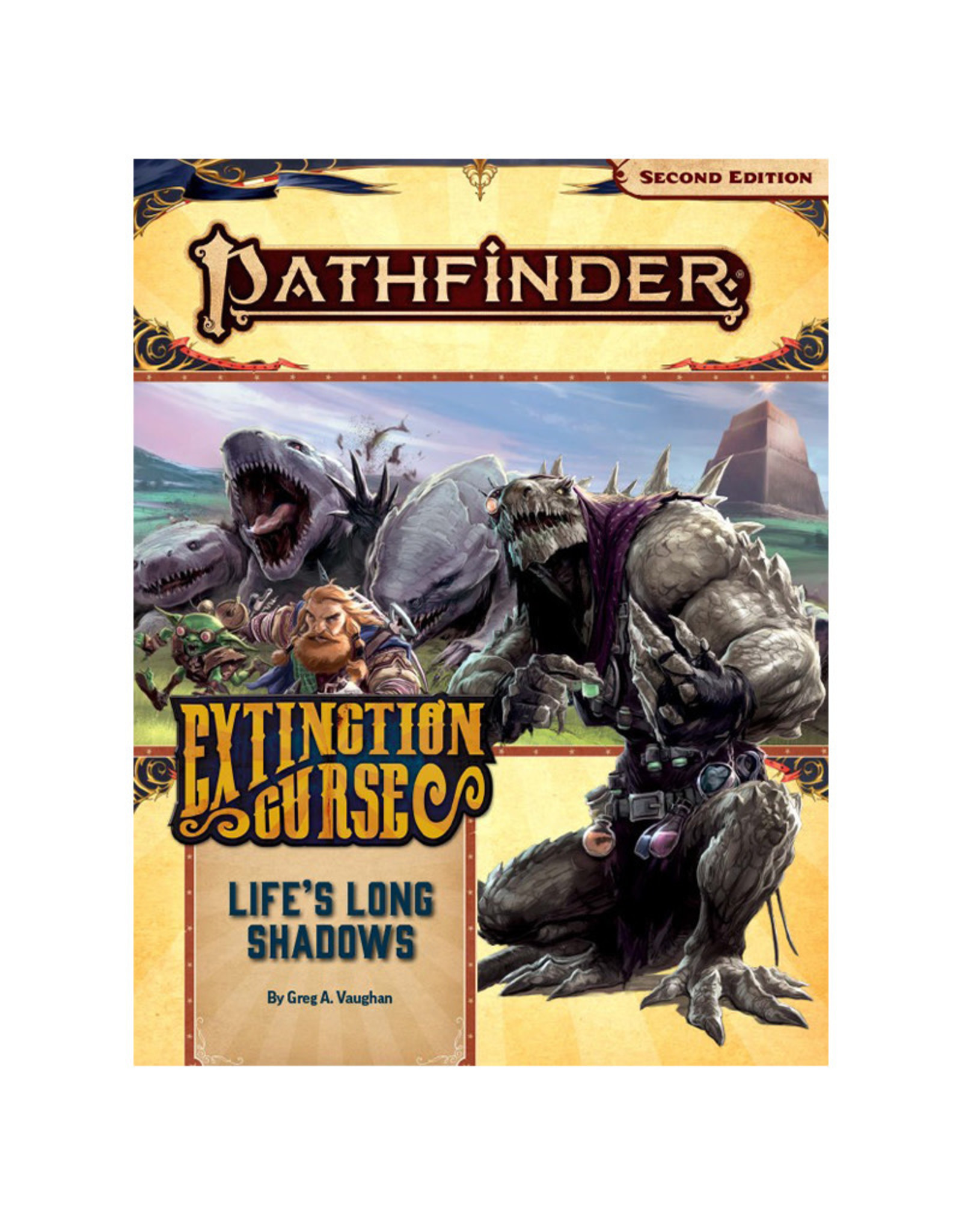 Paizo Pathfinder RPG: AP Extinction  Curse PT 3 Life's Long Shadow