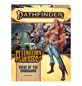 Paizo Pathfinder RPG: Adventure Path - Extinction Curse Part 4 - Siege of the Dinosaurs