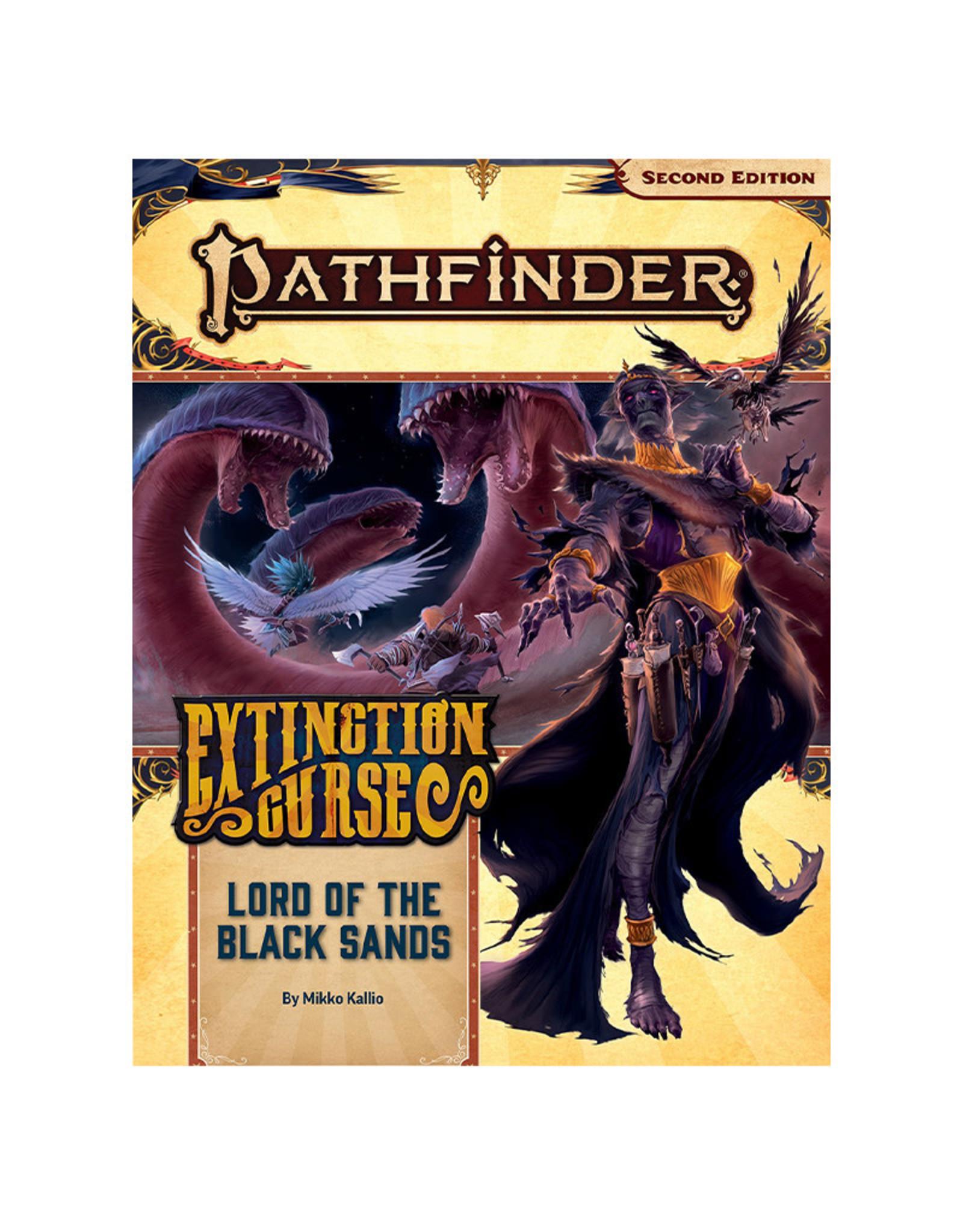 Paizo Pathfinder RPG: Adventure Path - Extinction Curse Part 5 - Lord of the Black Sands (P2)