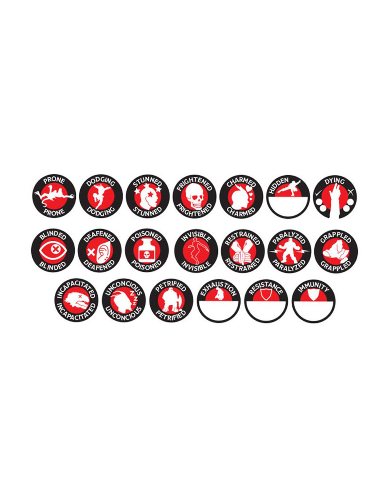 Gale Force 9 Tokens D&D RPG Character Token Set