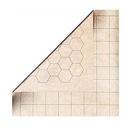 "Chessex Double-Sided (26x23.5) Battlemat  (1"" Squares/Hexes)"