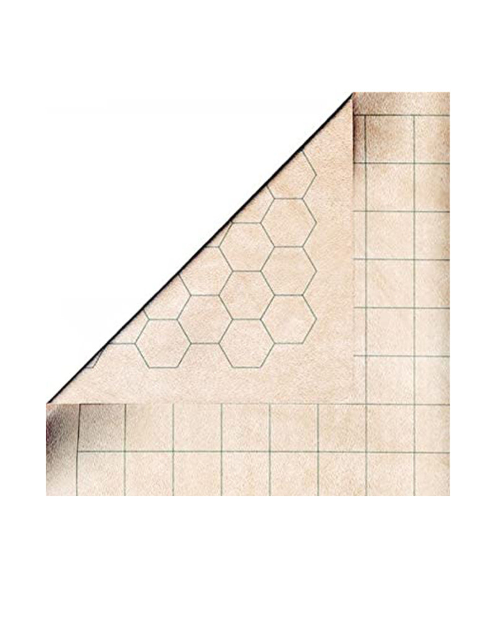 "Chessex Double-Sided Megamat (34.5x48) 1"" Squares/Hexes  (Chessex)"