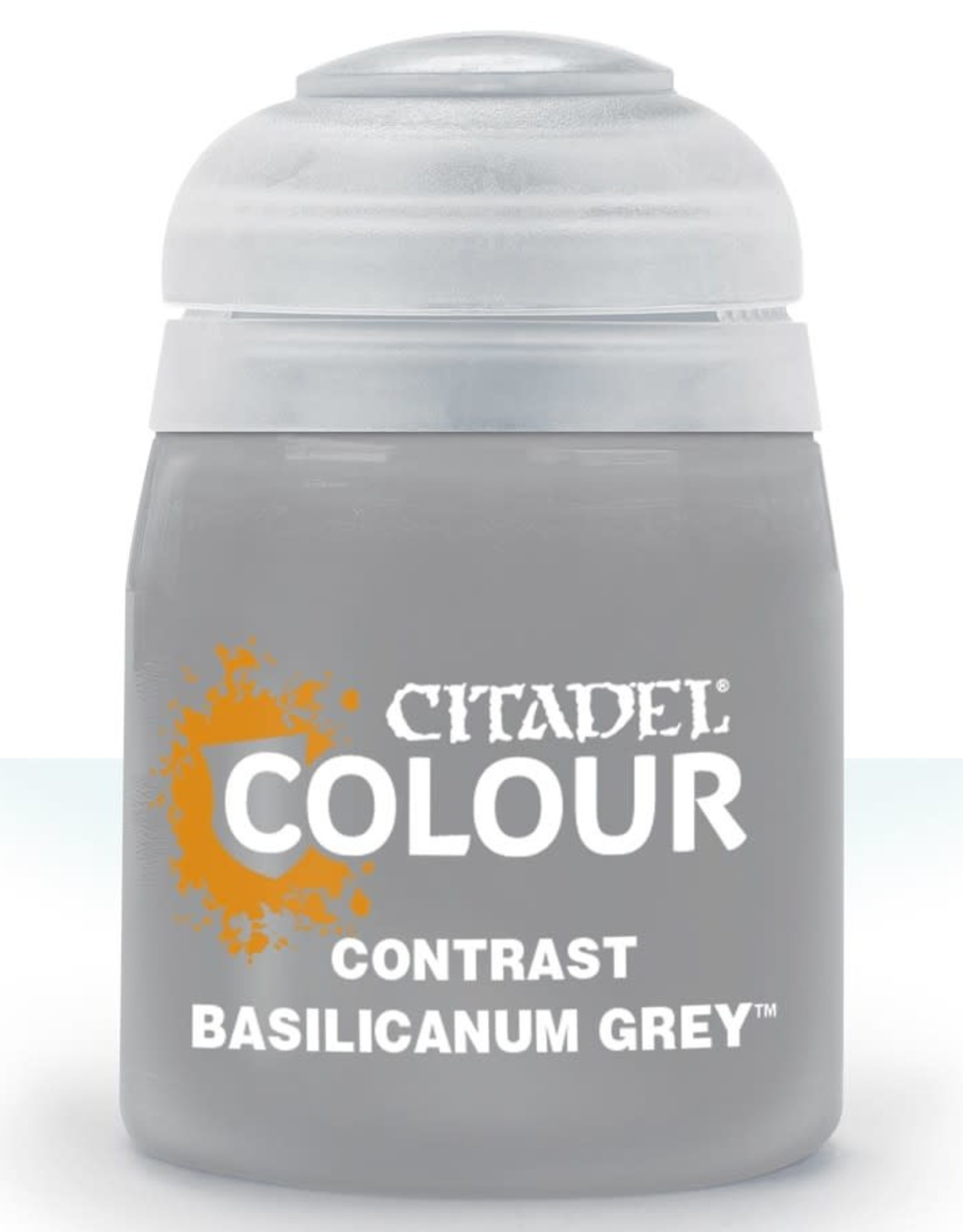 Citadel Contrast Paint: Basilicanum Grey