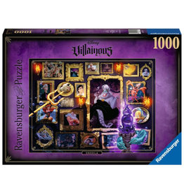 Ravensburger Disney Villainous Ursula Puzzle 1000 PCS