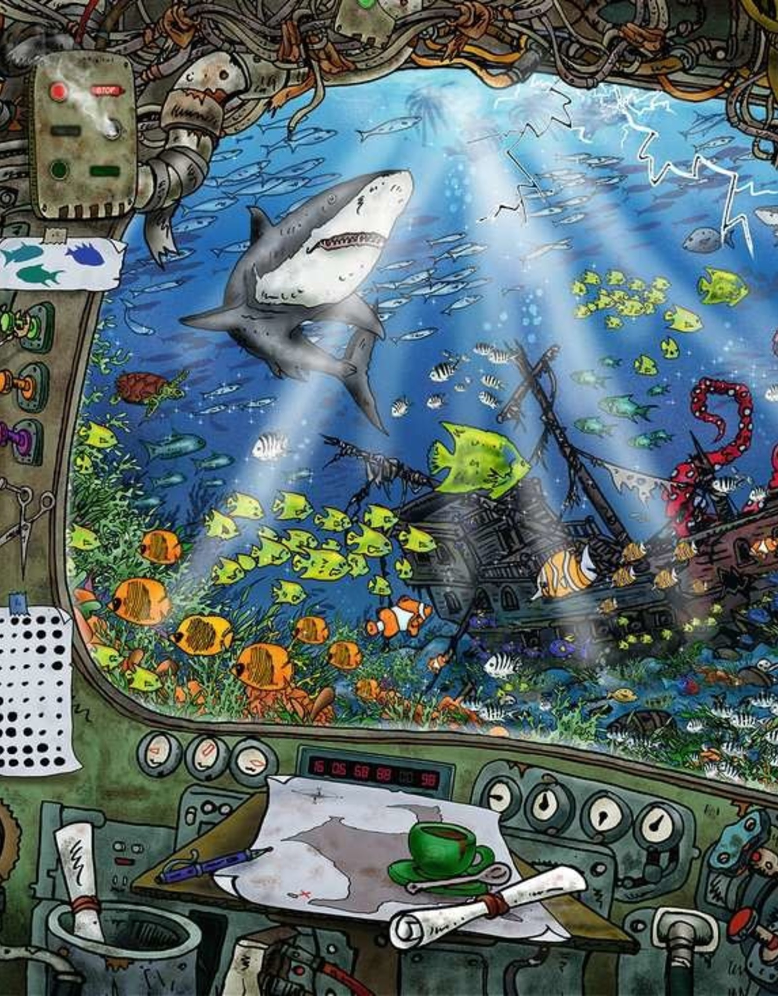 Ravensburger Submarine 759 PCS Escape Room