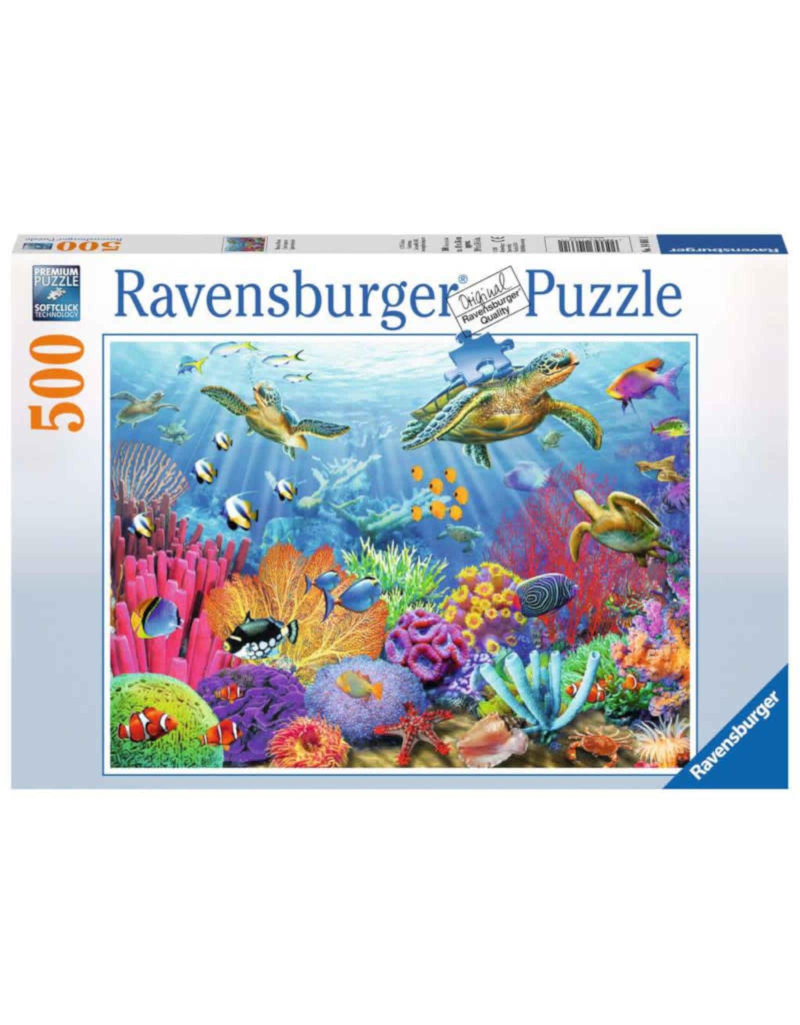 Ravensburger Tropical Waters Puzzle 500 PCS