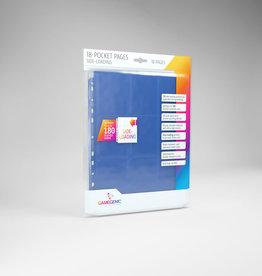 18-Pocket Pages: Side-Loading (10) Blue