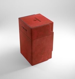 Deck Box: Watchtower 100+ Red