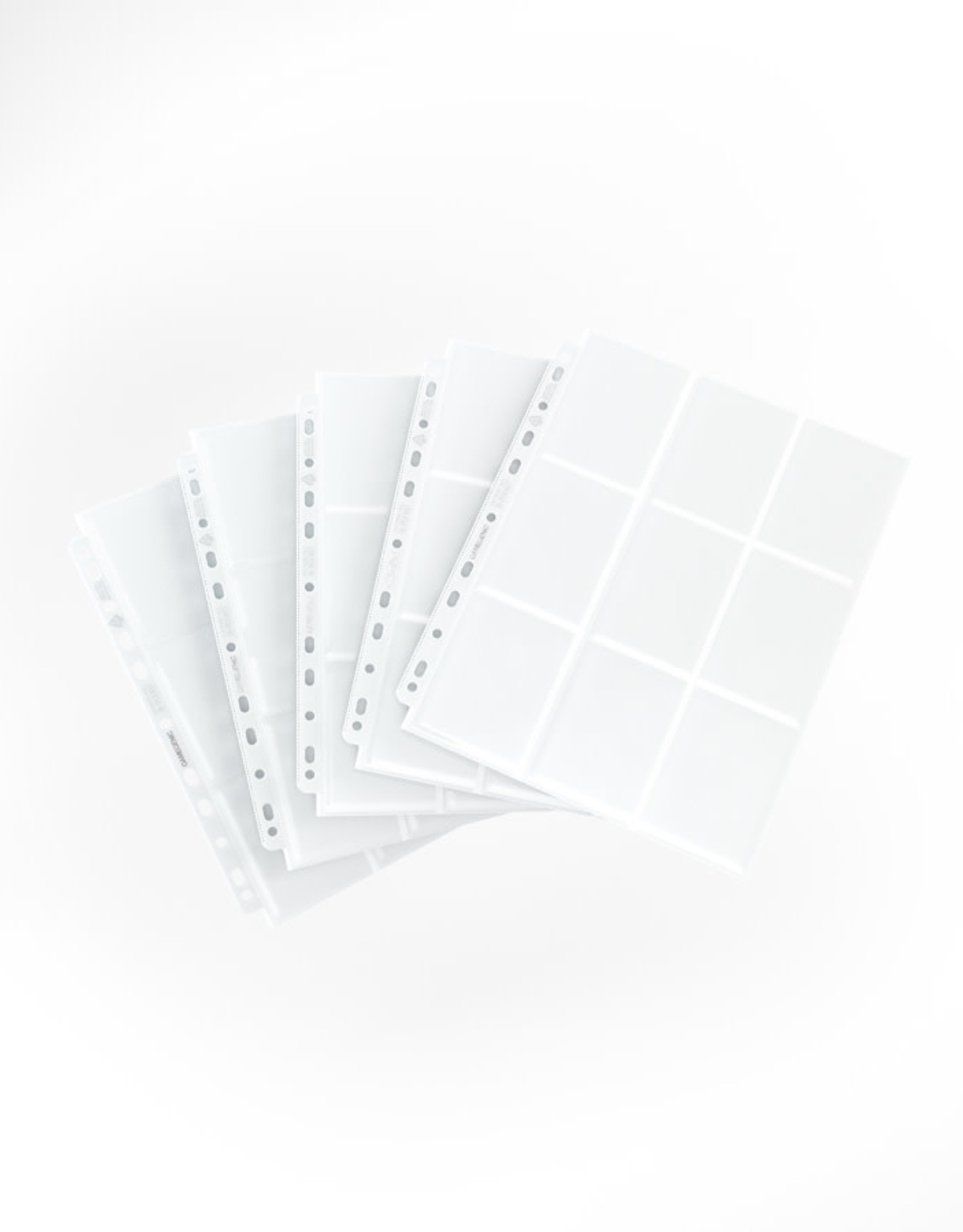 18-Pocket Pages: Side-Loading (10) White