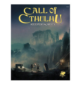 Chaosium Call Of Cthulhu RPG:  Keeper Screen Pack
