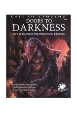 Chaosium Call of Cthulhu RGP: Doors to Darkness (Hardcover)