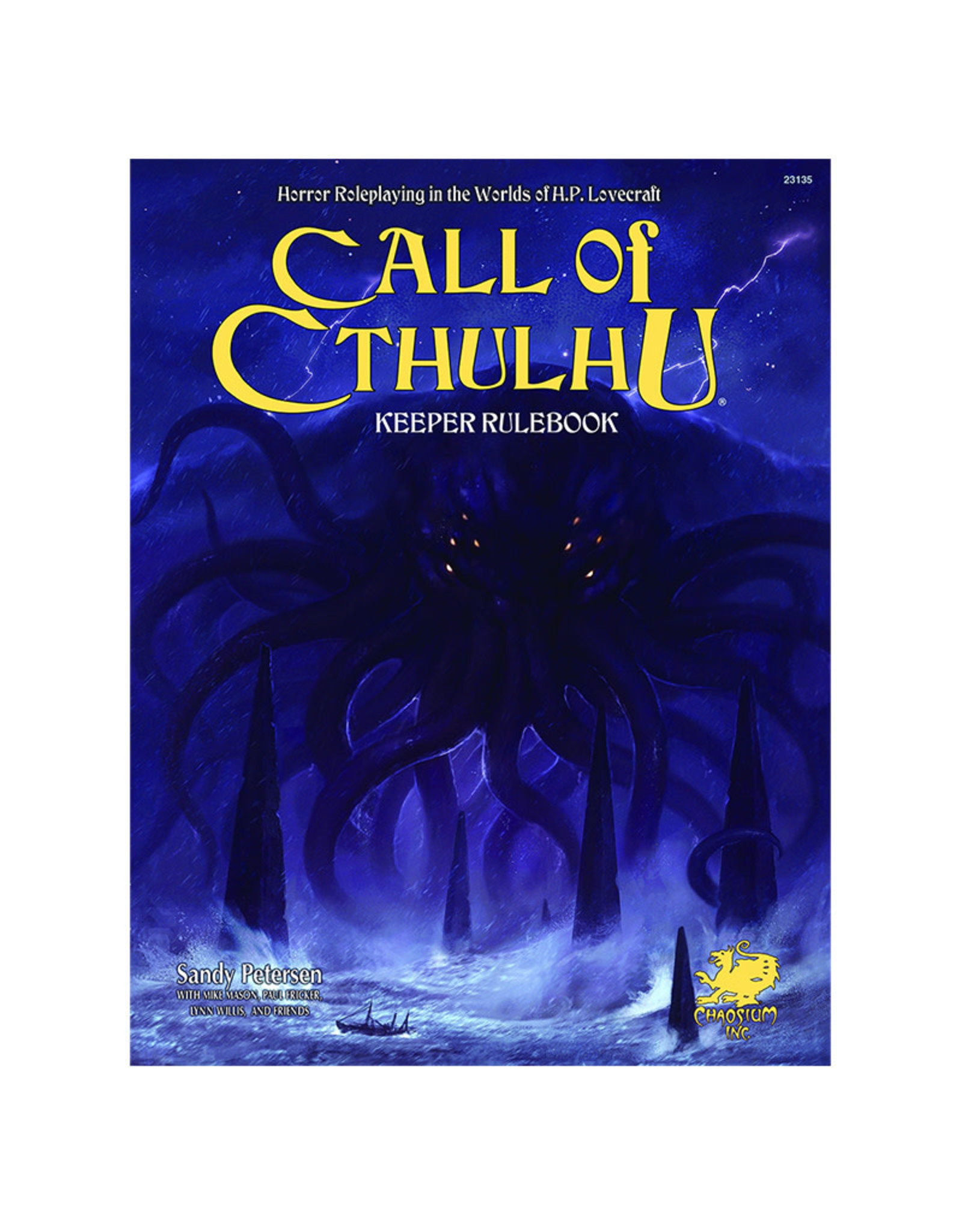 Chaosium Call of Cthulhu RPG: Keeper Rulebook (Core Rulebook)